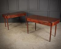 Pair of Georgian Mahogany D Shaped Console Tables (6 of 12)