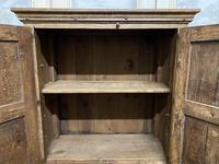 French Gothic Oak Rustic Cupboard or Wardrobe (10 of 22)
