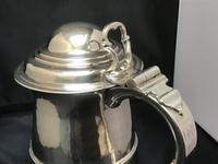 George II Solid Silver Tankard (3 of 10)