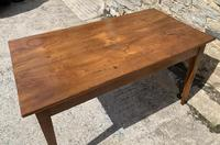 Small Antique French Elm Farmhouse Table (22 of 22)
