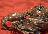 Fine Bronze Lobster Inkwell (8 of 10)