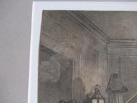 Original Second State Hogarth Print, A Rake's Progress Plate 6, 1735 (7 of 9)