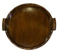Mahogany Circular Tray (3 of 7)
