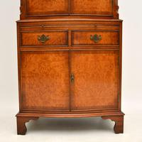 Antique Georgian Style Burr Walnut Cabinet (5 of 11)