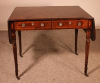 Early 19th Century Writing Desk in Mahogany with Flaps (4 of 13)