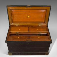 Antique Master Shipwright's Chest, English, Mahogany, Tool Trunk, Victorian (9 of 12)