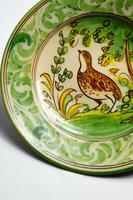 20th Century Display Plate by Bruno Depicting a Partridge (3 of 6)