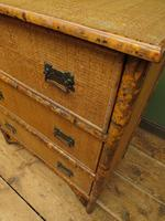 Antique British Colonial Bamboo Chest of Drawers (10 of 16)
