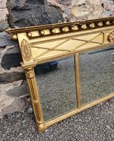 Fine Regency Giltwood Overmantle Mirror (3 of 6)