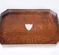 19th Century Country House Oak Serving Tray (4 of 9)