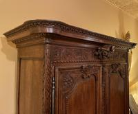 French Wedding Wardrobe from Normandy 18th Century in Oak (6 of 11)
