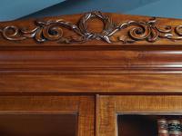 Antique George IV Mahogany 2 Door Cabinet Bookcase (3 of 13)