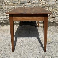 Small Antique French Elm Farmhouse Table (16 of 22)