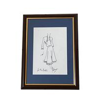 Set of 9 Original Drawings by Ian Thomas - Dressmaker for the Royal Family (6 of 9)