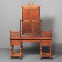 Antique 'John Taylor of Edinburgh' Satinwood Dressing Table (12 of 12)