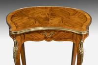 Pair of Late 19th Century Kidney Shaped Occasional Tables (8 of 8)