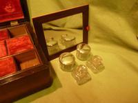 Inlaid Rosewood Jewellery – Vanity Box c.1860 (5 of 14)
