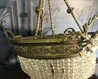 Brass Basket Shaped Light Fitting (10 of 11)