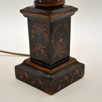 Pair of Antique Neoclassical Style Table Lamps (8 of 8)