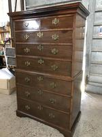 Georgian Chest on Chest with Beautiful Brass Drawer Handles (3 of 5)