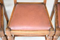 1930s Oak Dining Chairs (7 of 11)