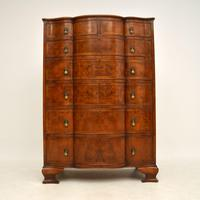 Large Antique Burr Walnut Chest of Drawers (2 of 11)