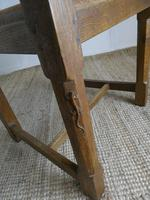 """Oak Armchair by """"Lizardman"""" Yorkshire (5 of 10)"""