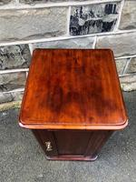 Antique Mahogany Bedside Cabinet (4 of 10)