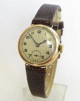 Ladies 9ct Gold Cyma Wrist Watch, 1930