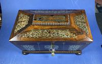 Regency Rosewood Twin Canister Tea Caddy (8 of 17)