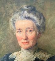 Henry Wright Kerr Exceptional Watercolour Portrait Painting (4 of 10)