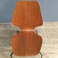 Teak 'City Chairs' by Øyvind Iversen (8 of 13)