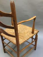 Early 19th Century Country Chair, stamped (8 of 10)