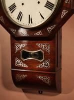 An Interesting Drop Dial American Wall Clock, Second Half 19th century. (8 of 12)