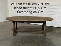 Super Rustic French Oval Farmhouse Dining Table (2 of 36)