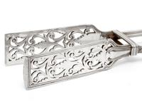 Antique Elkington & Co Silver Plated Asparagus Serving Tongs (4 of 5)