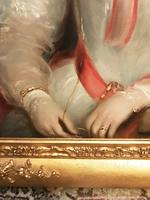 Sir Thomas Lawrence Studio Oil Portrait Painting of A Lady (7 of 13)