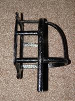 Antique Solid Cast Iron Set of 3 Harness Racks Inc Saddle, Bridle & Collar Hooks (9 of 15)