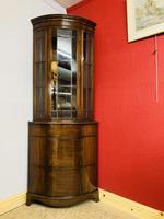 Glazed Corner Cabinet (7 of 7)