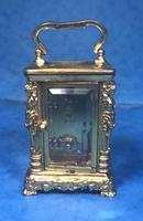 Victorian Miniature Brass Carriage Clock (5 of 11)