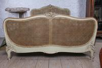 Lovely French King Size Caned Bed (3 of 9)