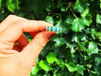 0.75ct Emerald & 0.58ct Diamond 14ct White Gold Dress Ring (2 of 9)