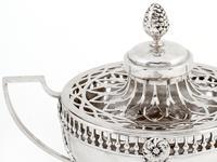 William Comyns Edwardian Silver Potpourri Bowl (4 of 6)