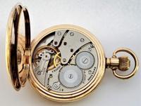 1930s Vertex Half Hunter Pocket Watch (6 of 6)