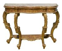 Italian carved giltwood console table c1770 (6 of 7)