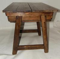 Spanish Pine Low Side Table (4 of 6)