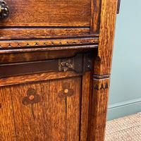 Victorian Holland & Sons Antique Oak Sideboard (7 of 9)