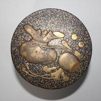 Antique Japanese Meiji Gilt & Black Lacquer Lidded Box (12 of 15)