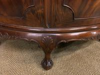 Mahogany Chippendale Style Demi Lune Commode (5 of 12)