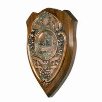 HMS Victory Centennial Copper Shield (2 of 5)